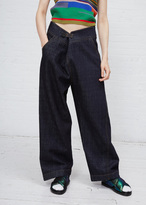 Marni blue black trouser