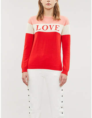 Chinti and Parker Colour block cashmere sweater