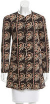 Etoile Isabel Marant Quilted Floral Print Jacket