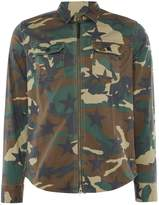 Replay Camouflage Printed Stretch Shirt