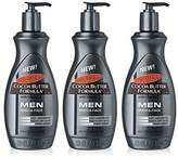 Palmers 3x Cocoa Butter Formula Lotion Body & Face MEN Dry Skin 400ml *PUMP* by