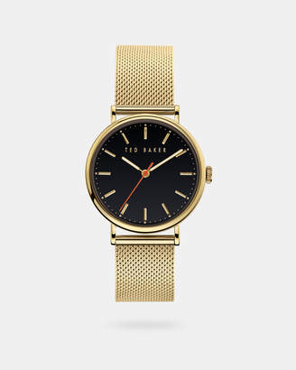 Ted Baker PHYLIPI Milanese mesh band watch