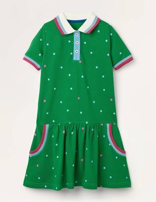 Spotty Polo Jersey Dress