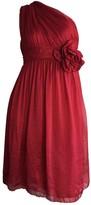 Moschino Red Silk Dresses