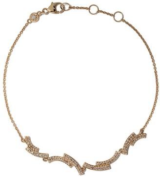 Astley Clarke 14kt yellow gold Icon Scala diamond bracelet