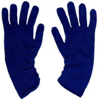 Graciela Huam Palabra Alpaca Gloves - Blue