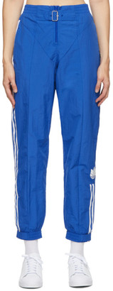 adidas Blue Paolina Russo Edition Striped Track Pants