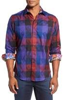 Robert Graham Men's Classic Fit Nutcracker Jacquard Sport Shirt