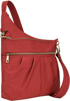 Travelon Anti-Theft Signature 3 Compartment Cross Body Bag Crossbody Bag