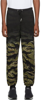 Diesel Green Camo P-Frei-Tigercam Lounge Pants