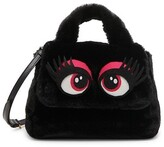 Thumbnail for your product : Moschino Faux Fur Eyes Shoulder Bag
