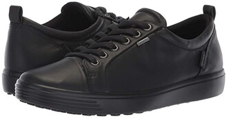 Ecco Soft 7 GORE-TEX(r) Tie (Black Cow Leather) Women's Lace up casual Shoes