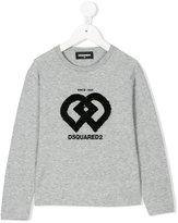 DSQUARED2 sequin detail T-shirt