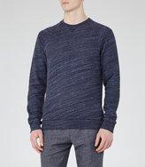 Reiss Drava Loopback Cotton Sweatshirt