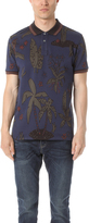 Paul Smith Floral Print Regular Fit Polo