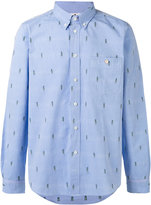Paul Smith embroidered detail shirt - men - Cotton - S