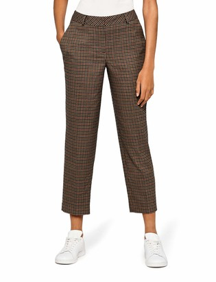 Find. Amazon Brand Women's Check Suit Trouser Trouser