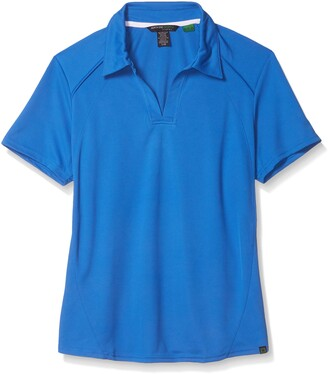 Ashe City Women's Recycled Polyester Performance Pique Short Sleeve Polo Shirt