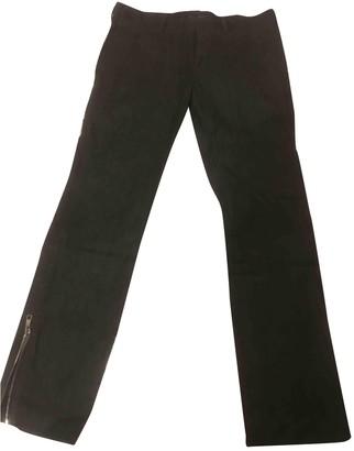 Neil Barrett Grey Cotton Jeans for Women Vintage