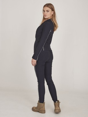 NU DENMARK - Eli Power Stretch Blazer in Midnight Blue - S
