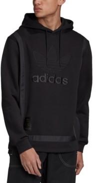 adidas Men's Originals Superstar Logo Fleece Warm-Up Hoodie