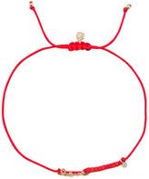 Sydney Evan Shy by Mini Cord Love Bracelet with Diamond Bezel