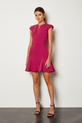 Karen Millen Square D Ring A Line Dress
