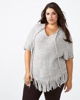 Penningtons d/c JEANS Fringed Poncho Sweater