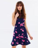 Warehouse Delia Print Dress