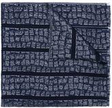 Armani Collezioni woven jacquard scarf