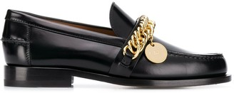 Givenchy Chain Embellished Loafers