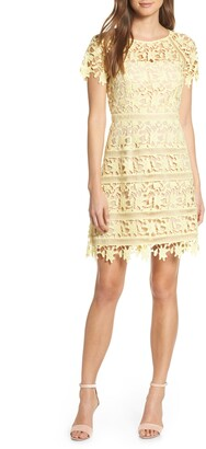 Eliza J Open Lace Dress