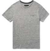 Rag & Bone Owen Mélange Linen T-Shirt