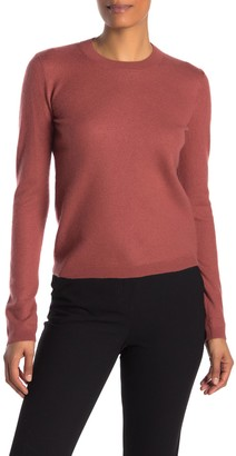 Vince Fitted Cashmere Blend Sweater
