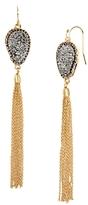 BaubleBar Starfire Druzy Earrings
