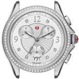 Michele Women's Belmore Chrono Diamond Diamond Dial Watch Case, 37Mm