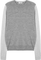 John Smedley Hindlow Charcoal Fine-knit Wool Jumper