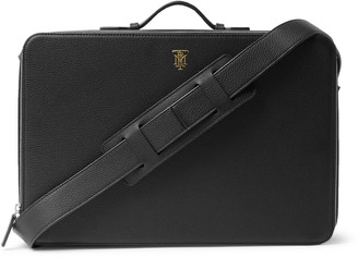Montroi Nomad Working Station Full-Grain Leather Briefcase