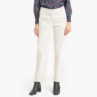 """Hartford PIKE Straight Velvet Trousers, 28.5"""""""
