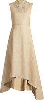 Awake Natural Princess straw-effect dress