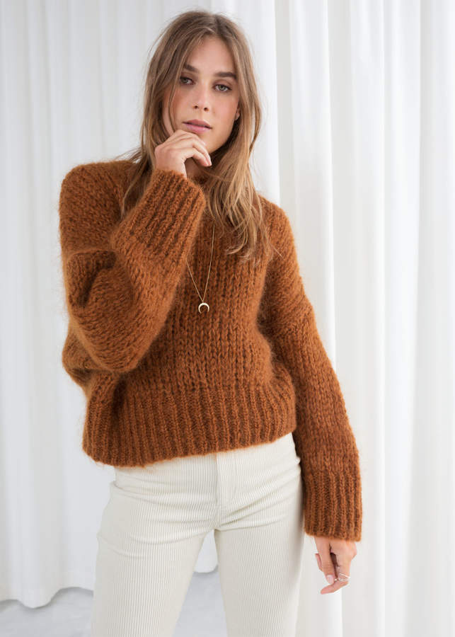 19f1b40801836e Chunky Wool Sweater - ShopStyle