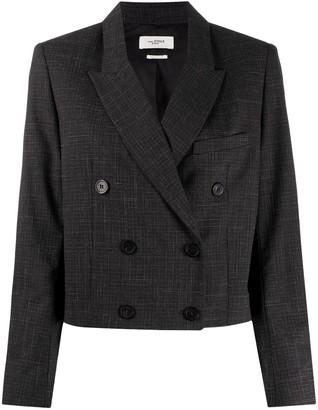 Etoile Isabel Marant Lisby cropped blazer