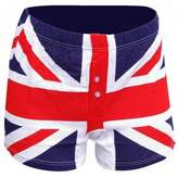 England Mens Union Jack Boxer Shorts