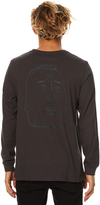 RVCA Mcgee Head Ls Mens Tee Black