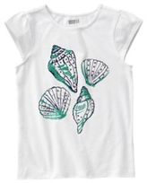 Crazy 8 Sparkle Shells Tee