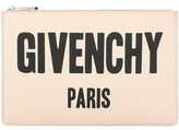 Givenchy Iconic Print printed leather clutch