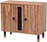 Design Studios Valina 2-Door Wood Entryway Shoe Storage Cabinet