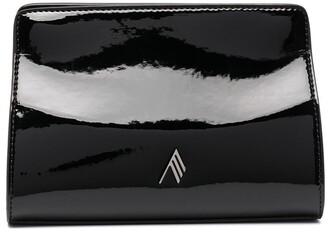 ATTICO Logo Plaque Clutch Bag