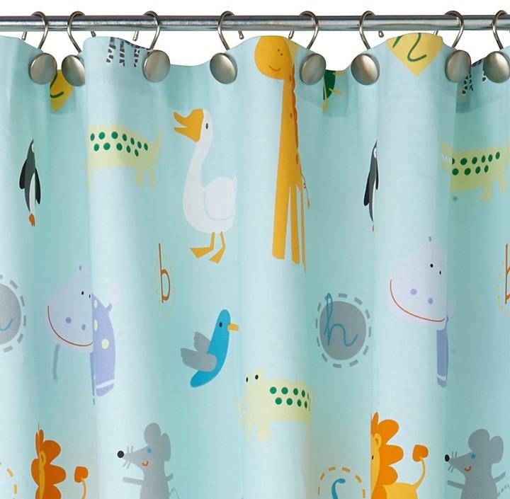 Kassatex Zoo Friends Shower Curtain