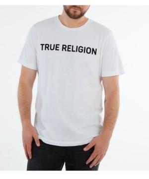 True Religion Men's Basic Short Sleeve Crewneck T-shirt
